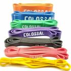 Colossal Heavy Duty Resistance Bands Loop Exercise Sport Fitness Yoga Gym Latex image