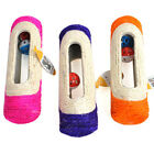 Pet Cat Scratching Post 3 Rolling Ball Sisal Tunnel Training Interactive Toy Uti