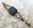 Gold & Silver Color Bracelet Chain Link for 38 40 42 44mm Apple Watch 5 4 3 2 1 image