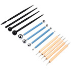 Professional Clay Modeling Rock &Pottery Sculpting Tools Ball Stylus Dotting Set image