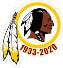 Kyпить WASHINGTON REDSKINS 1933-2020 Vinyl Decal / Sticker Laminated For A Long Life на еВаy.соm