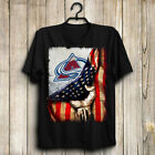 Colorado Avalanche NHL Inside Flag Men's US T-Shirt Hot Gift $18.99 USD on eBay