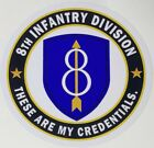 US Army 8th Infantry Division