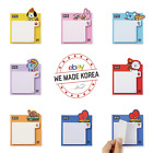 BT21 Character Bite Sticky Memo Pad 7types Stationery Authentic K-POP Goods