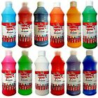 Artmix 600ml Bottles Ready Mix Craft Poster Paints Kids Childrens asst Colours