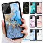 Personalised Name Marble Case Cover For Oppo Reno 2 Z A91 A52 A73 A57 A9 A5 2020