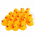 Внешний вид - 1000 Mini Yellow Bathtime Rubber Ducks Bath Toy Squeaky Water Play Kids Toddlers