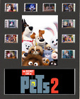 The Secret Life Of Pets 2 replica Film Cell Presentation 10x8 Mounted 10 cells
