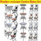 Mosaic Garden Bistro Set Chairs & Table Home Furniture Outdoor Patio Dining NEW