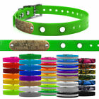 """3/4"""" MicroLite Replacement Underground Dog Fence Collar Strap & Name Tag"""