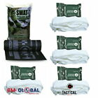 Black SWAT-T Military Multi-Purpose  Tournique w/ Compressed Krinkle Gauze 3160