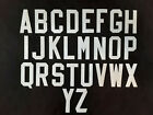 Tackle Twill Letters 3' Block Font NHL, NFL, NBA MLB Authentic 3' Jersey Letters