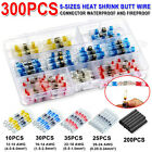 300/500Pcs Solder Seal Heat Shrink Waterproof Wire Connector Sleeve Splice Kit
