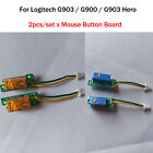 2pcs/set Mouse Button Board Micro Switch Board for Logitech G903 G900 G903 Hero