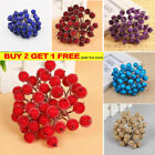 Christmas Artificial Berry Flower Decor Red Pine Fruit Fake Home Berries Party