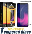 2-Pack For iPhone 12 XS 11 Pro Max XR 12 Mini FULL Tempered Screen Protector