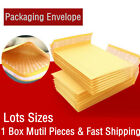 5/20/50/100pcs Kraft Bubble Envelopes Padded Mailers Shipping Self-Seal Bags New