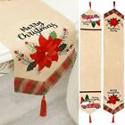 Christmas Table Runner Or Bottle Cover Xmas Tablecloth Home Party Decor 184*34cm
