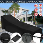82''waterproof Sun Lounge Chair Dust Oxford Cover Outdoor Garden Patio Furniture