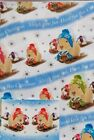 Snow Antics Guinea Pig Woolly Hat Sledging Snow Christmas Gift wrap and tags
