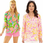 NWT Authentic Lilly Pulitzer Elsa Top Silk XXS XS S