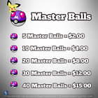 Pokemon Sword and Shield - Master Ball Bundle - Fast delivery - Cheapest Bundle!