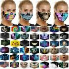 Washable Reusable Facemask Half Face Mouth Mark Protective Adults Kids Cotton