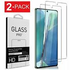 For Samsung Galaxy Note 10 20 S10 Lite HD Clear Tempered Glass Screen Protector