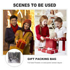 6pcs Candy Bags Paper Bags Package Bags Exquisite Gift Bags with Ribbons