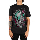Addictive Clothing - 'Belleza Catrina' Tatuaje Camiseta - Alternativa M, L, XL,