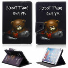 """Wireless Keyboard Fold Case Print Leather Stand For Verizon Ellipsis 7"""" Tablet H"""