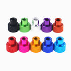 Knurled Thumb Nuts 6 -32UNC Non-slip Aluminum alloy Through Hole Hand Grip Knobs