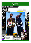 EA SPORTS UFC 4~ XBOX ONE/XBOX SERIES X~ BRAND NEW~ FACTORY SEALED~