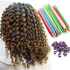 25Pcs / Set Curlers Spiral Curly Hair Magic Ringlets Hairstyle Curlers Girls