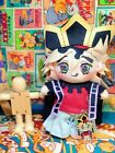Anime Demon Slayer Kimetsu no Yaiba Douma Dress Up Plush Toys Doll 20cm Gifts N