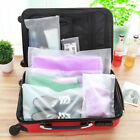 Portable Travel Storage Waterproof Shoes Organizer Pouch Plastic Packing Bag F6