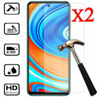 2X Tempered Glass Screen Protector For XiaoMi Redmi Note 9S 9 8 7 6 Pro 9A 8A 7A