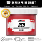 Внешний вид - Red - Low Temperature Cure Plastisol Ink For Screen Printing - All Sizes
