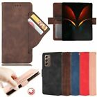 For Samsung Galaxy Z Fold 2 5G Magnetic Flip Leather Wallet Card Slot Case Cover