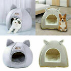 Pet Nest Dog Cat Nesting Bed Puppy Warm Cave Kennel Basket Canopy House Sleeping