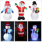 'Giant Led Christmas Santa Inflatable Snowman Airblown Yard Blow Up Outdoor Decor