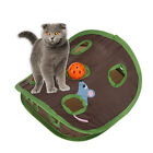 LN_ EE_ Simple 9-hole Cat Kitten Interactive Toy Ball Bell Mouse Hidden Pet Su