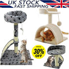 Cat Tree Activity Centre Scratcher Scratching House Climbing Tower Toys UK New