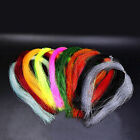 100 Root/bundle Holographic Tinsel String Jig Hook Fishing S4h6 Material C0r6
