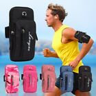 Running Arm Bag Armband Holder Outdoor Sports Cell Phone Pouch with Headset Hole