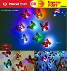 3d Butterfly Home Room Led Light Art Design Decal Wall Sticker Wall Decor Party