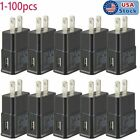 Lot 5V US Plug USB Power Adapter AC Home Wall Charger For Samsung Galaxy Models