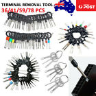 36-78x Car Terminal Removal Tool Kit Wire Connector Pin Release Extractor Puller