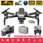 L109PRO GPS Drone 4K Quadcopter 5G WiFi FPV HD ESC Camera Brushless Quadcopter