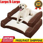 Deluxe Dog Bed Orthopaedic Pet Comfy Soft Cushion Chair Large Luxury Warm Indoor